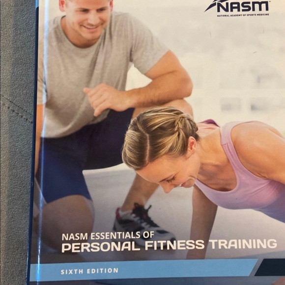 NASM - CPT TextbooK 6th edition - NWT